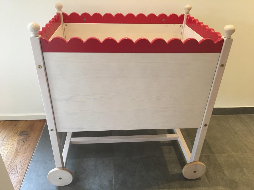 Designer baby bett stubenwagen massiv sehr gut erhalten ebay